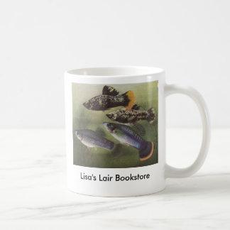 Vissen - Mollies - Poecilia sphenops Boekhandel Koffiemok
