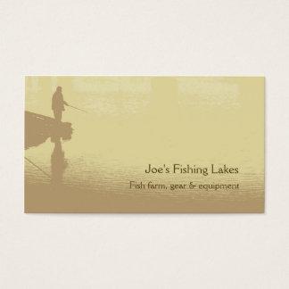 Vissend visitekaartje visitekaartjes