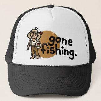 vissende hoed trucker pet