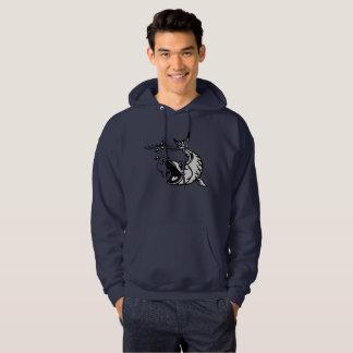 Vissende opslag hoodie