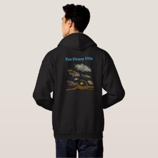 vissende overhemdssweater hoodie