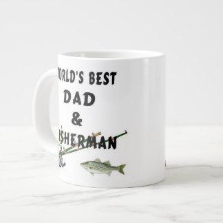 Vissende Papa Grote Koffiekop
