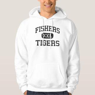 Vissers - Tijgers - Middelbare school - Vissers Hoodie