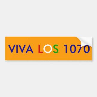 Viva Los 1070, de Sticker van de Bumper