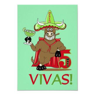 VIVAS! De Uitnodigingen van de Partij van Cinco DE