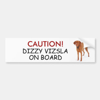 VIZSLA - bumpersticker