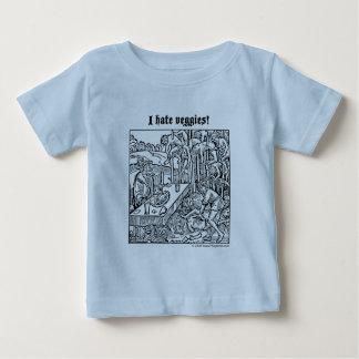"""Vlad """"ik haat Veggies!"""" baby t-shirt"""