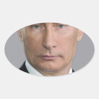 Vladimir Putin Ovale Sticker