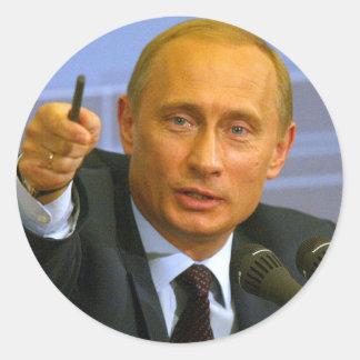 Vladimir Putin wil geven dat man een koekje! Ronde Sticker