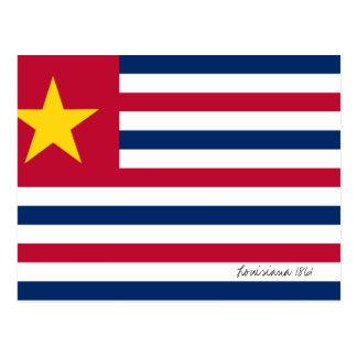Vlag 1861 van Louisiane Briefkaart