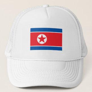 Vlag de Noord- van Korea Trucker Pet