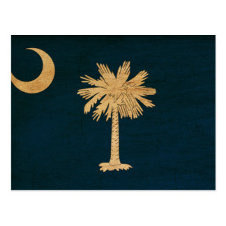 Vlag de Zuid- van Carolina Briefkaart