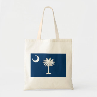Vlag de Zuid- van Carolina Budget Draagtas