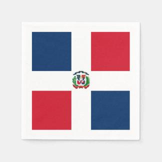 Vlag: Dominicaanse Republiek Wegwerp Servet