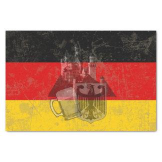Vlag en Symbolen van Duitsland ID152 Tissuepapier