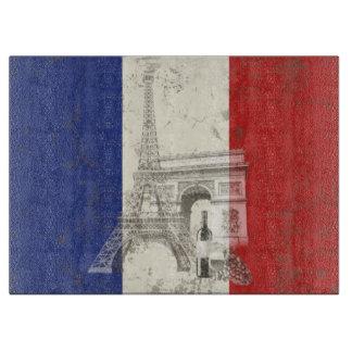 Vlag en Symbolen van Frankrijk ID156 Snijplank