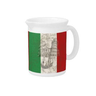 Vlag en Symbolen van Italië ID157 Drink Pitcher