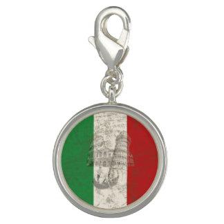 Vlag en Symbolen van Italië ID157 Foto Charms