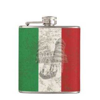 Vlag en Symbolen van Italië ID157 Heupfles