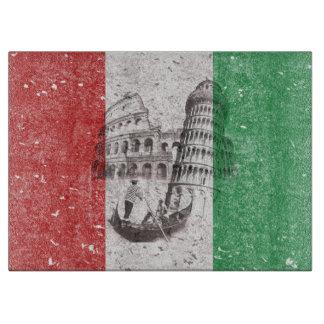 Vlag en Symbolen van Italië ID157 Snijplank