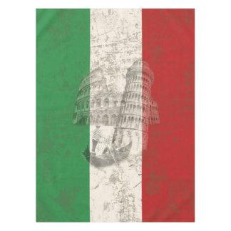 Vlag en Symbolen van Italië ID157 Tafelkleed