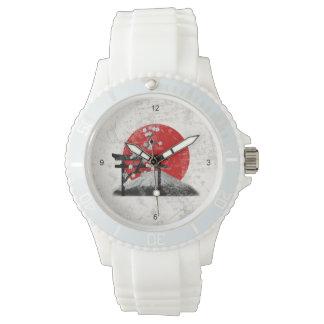 Vlag en Symbolen van Japan ID153 Horloges