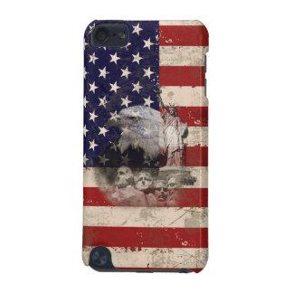 Vlag en Symbolen van Verenigde Staten ID155 iPod Touch 5G Hoesje
