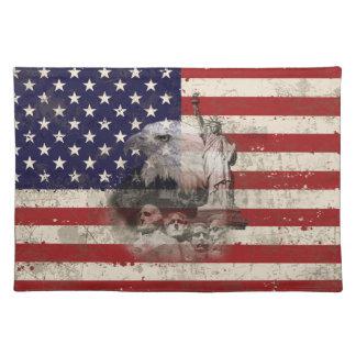 Vlag en Symbolen van Verenigde Staten ID155 Placemat