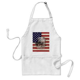 Vlag en Symbolen van Verenigde Staten ID155 Standaard Schort