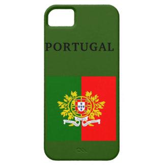 VLAG i van PORTUGAL SE van de Telefoon+ 5/5S, Barely There iPhone 5 Hoesje