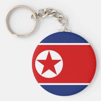 Vlag Keychain de Noord- van Korea Sleutelhanger