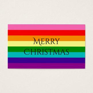 Vlag van 8 Strepen van de Trots LGBT van de Visitekaartjes