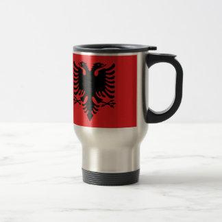 Vlag van Albanië - Flamuri i Shqipërisë Reisbeker
