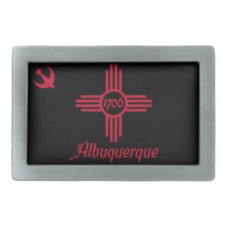 Vlag van Albuquerque, New Mexico Gesp