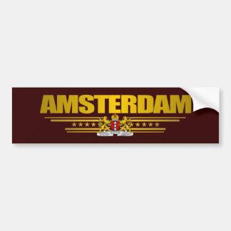 Vlag van Amsterdam Bumpersticker
