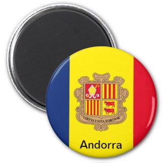 Vlag van Andorra Magneet