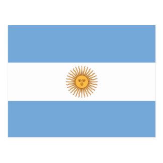 Vlag van Argentinië Briefkaart