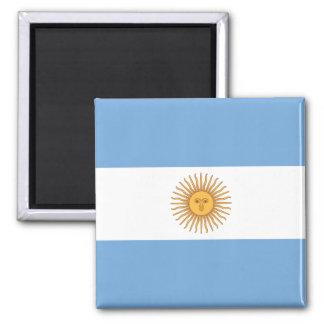 Vlag van Argentinië Vierkante Magneet