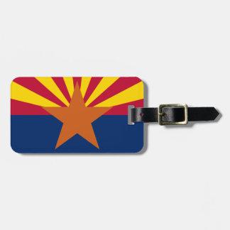 Vlag van Arizona Kofferlabel