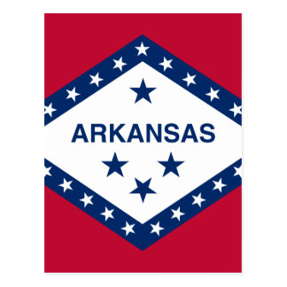 Vlag van Arkansas Briefkaart