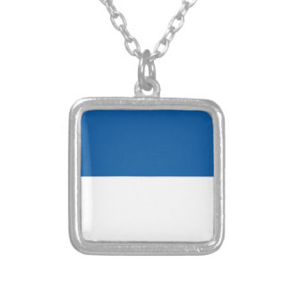 Vlag van Assen Zilver Vergulden Ketting