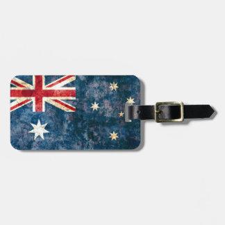 Vlag van Australië Kofferlabel