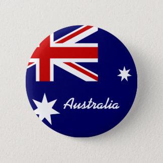 Vlag van Australië Ronde Button 5,7 Cm