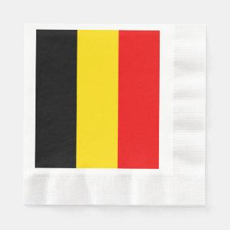 Vlag van België Wegwerp Servetten