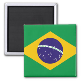 Vlag van Brazilië Koelkast Magneet