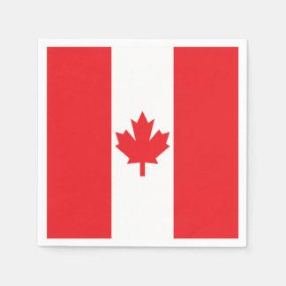 Vlag van Canada Wegwerp Servetten