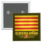 Vlag van Catalonië (Catalonië) Buttons