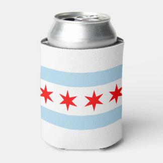 Vlag van Chicago, Illinois Blikjeskoeler