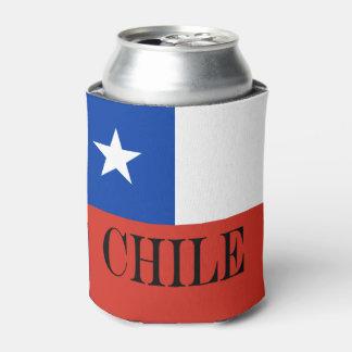 Vlag van Chili Blikjeskoeler