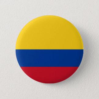 Vlag van Colombia - Bandera DE Colombia Ronde Button 5,7 Cm